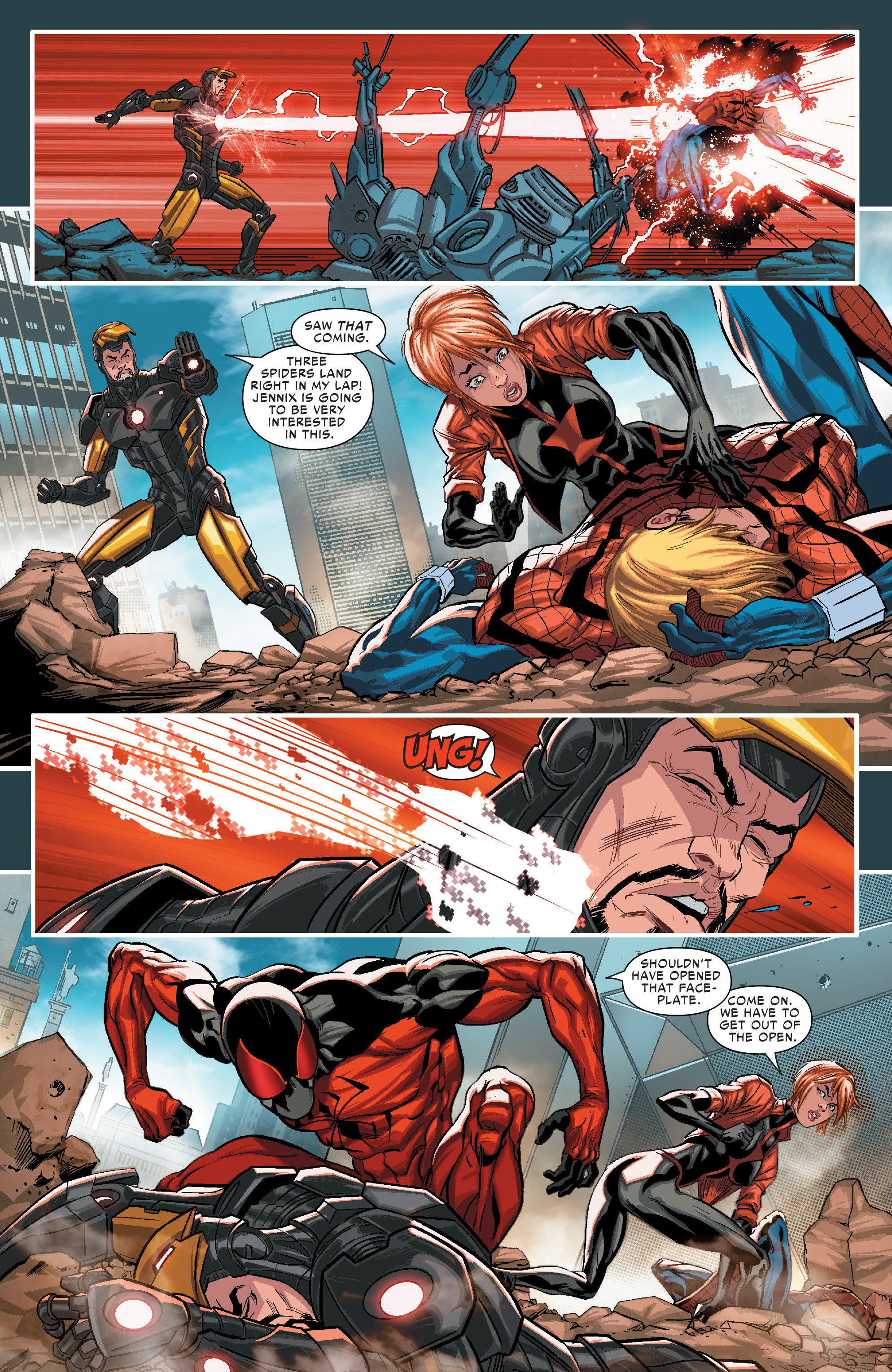 Read online Scarlet Spiders comic -  Issue #1 - 11