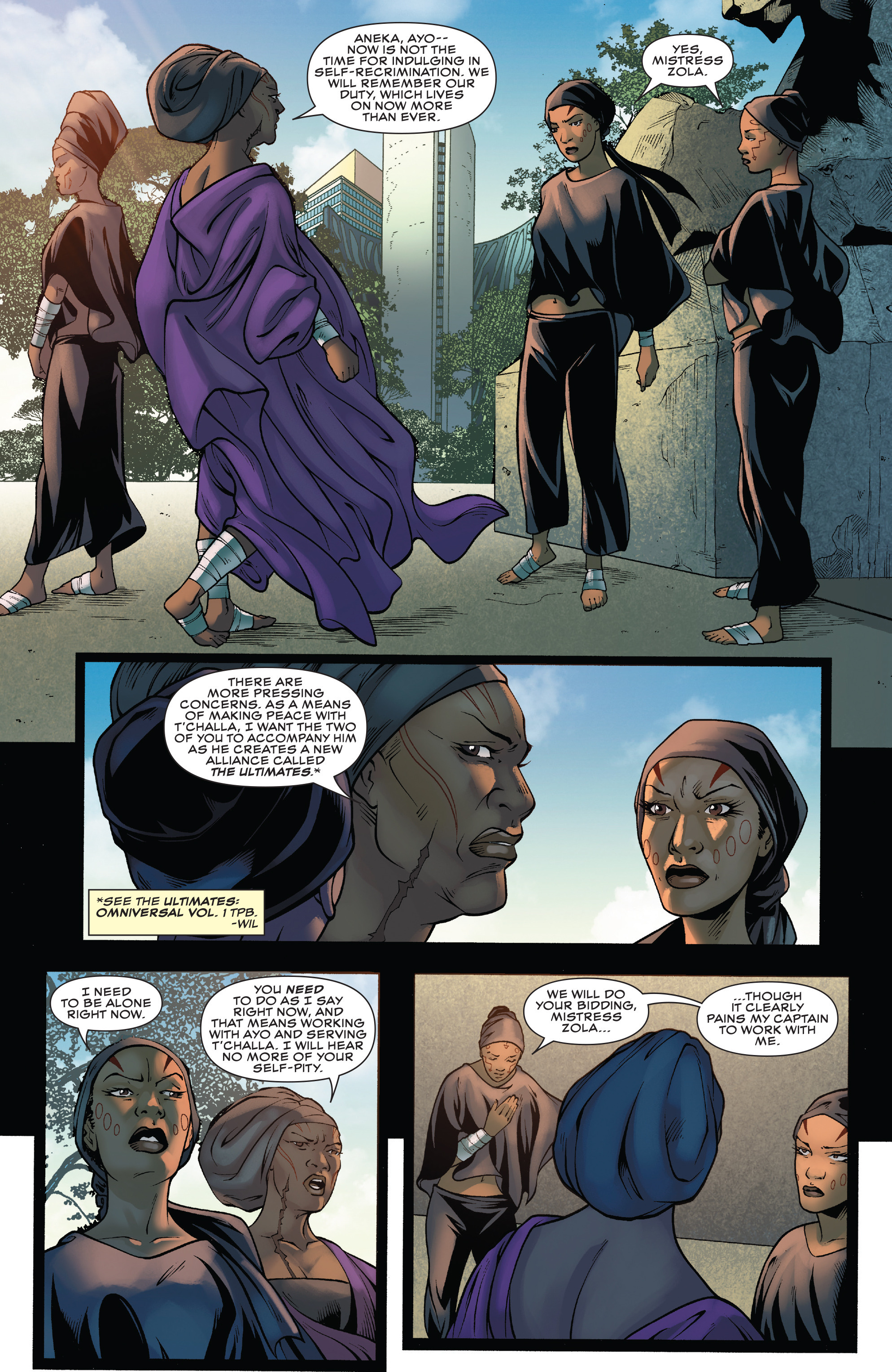 Read online Black Panther: World of Wakanda comic -  Issue #4 - 5