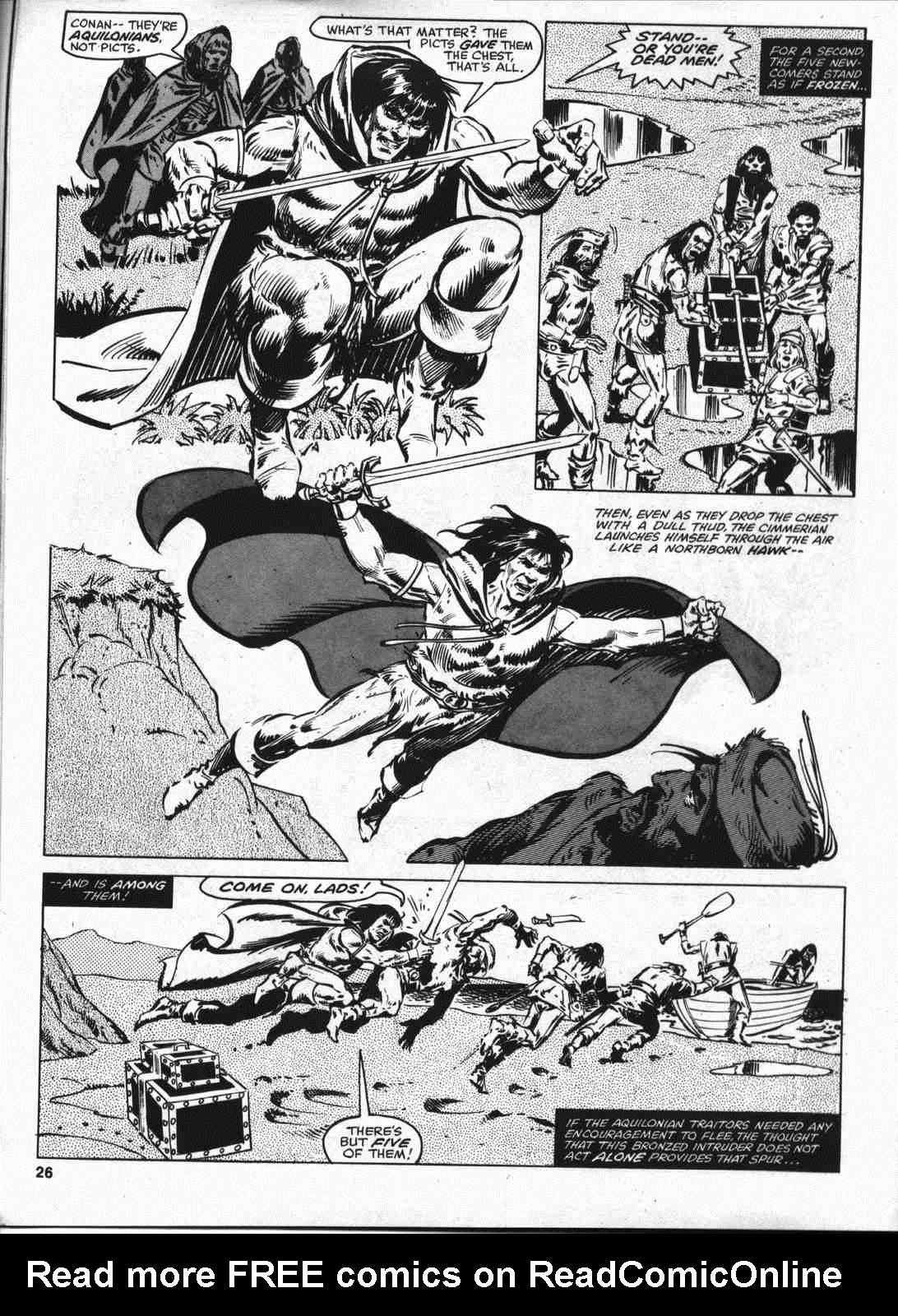 The Savage Sword Of Conan Issue #46 #47 - English 25