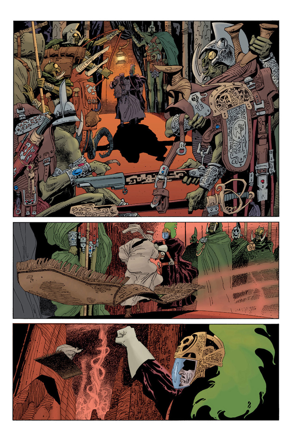 annotations to league of extraordinary gentlemen volume - HD 1109×1670