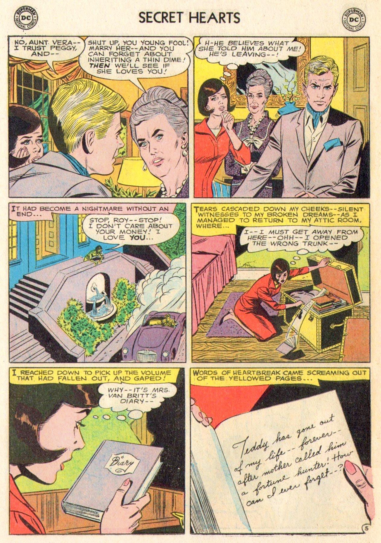Read online Secret Hearts comic -  Issue #104 - 18