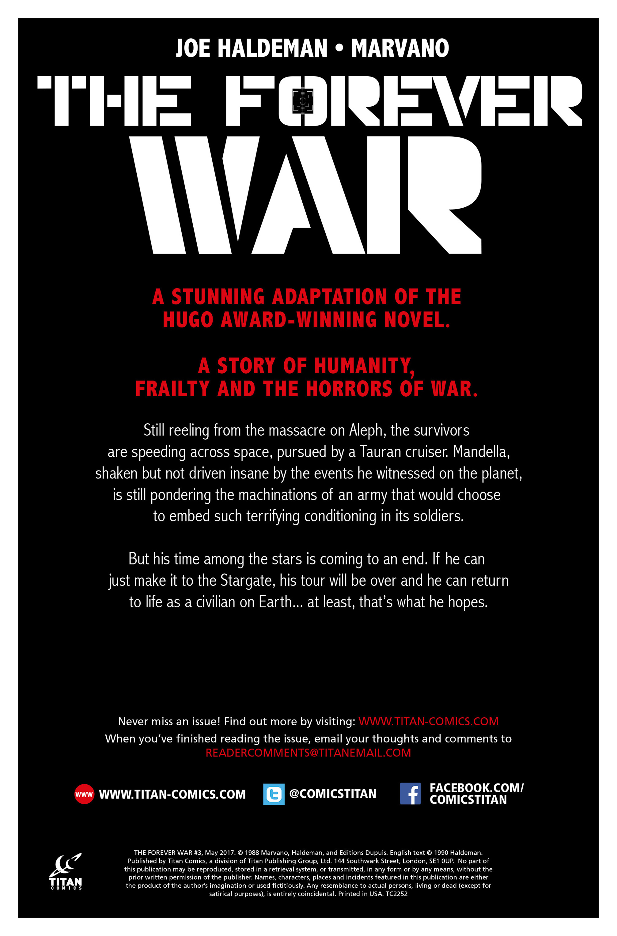 The Forever War (2017) #3 #4 - English 4