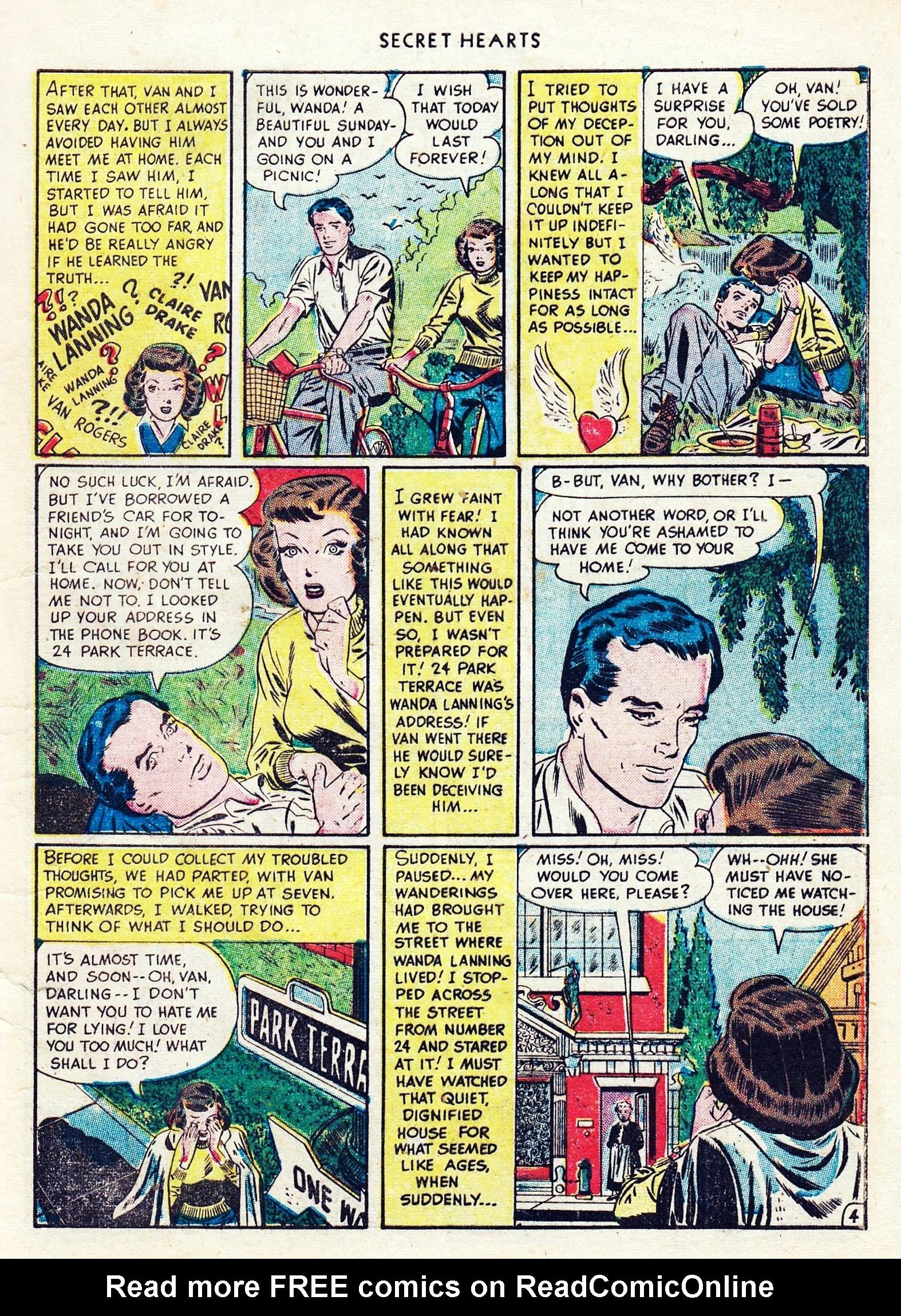 Read online Secret Hearts comic -  Issue #1 - 7