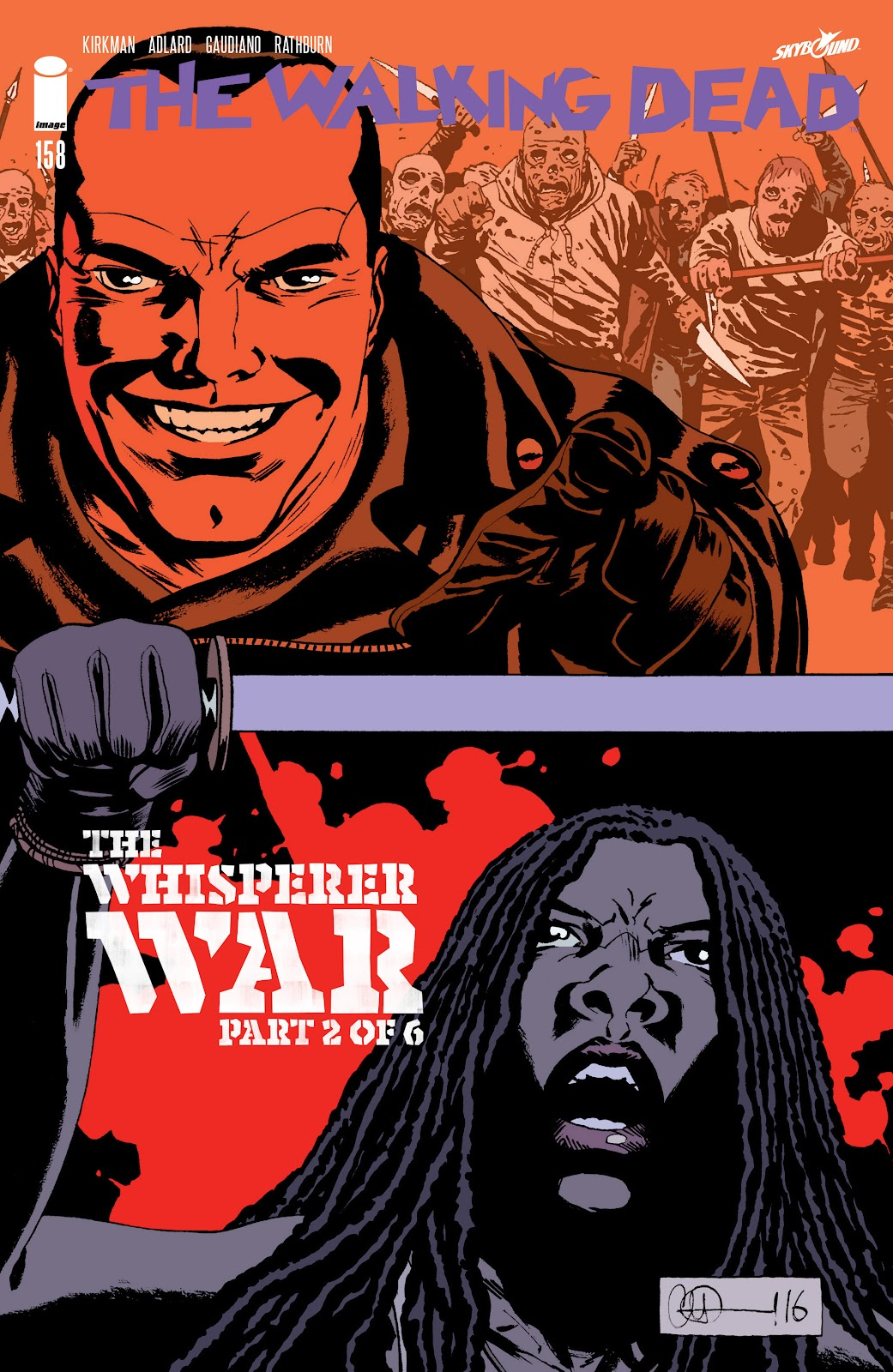 The Walking Dead Issue #158 Page 1