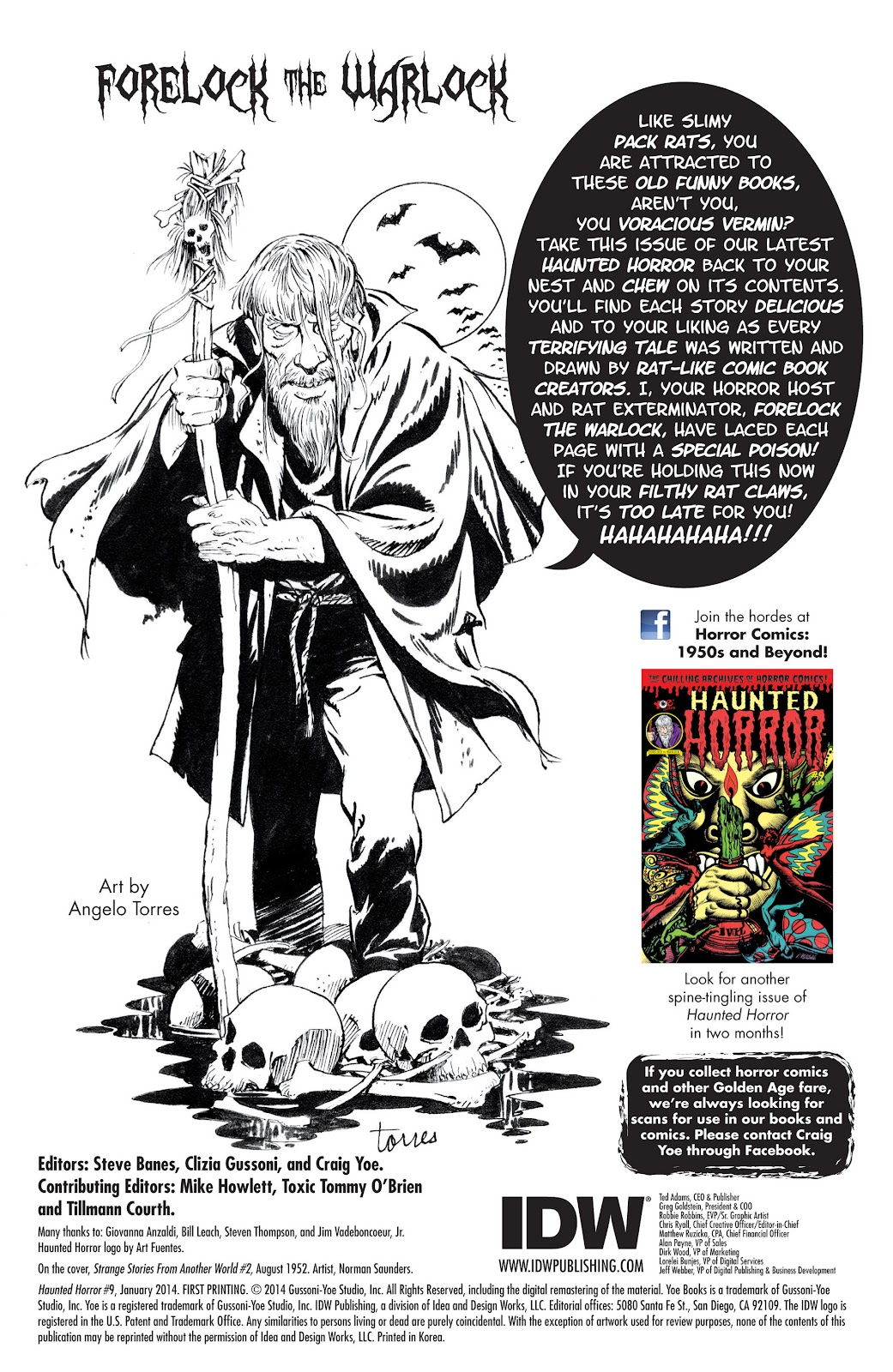 Haunted Horror Issue #9 #9 - English 2