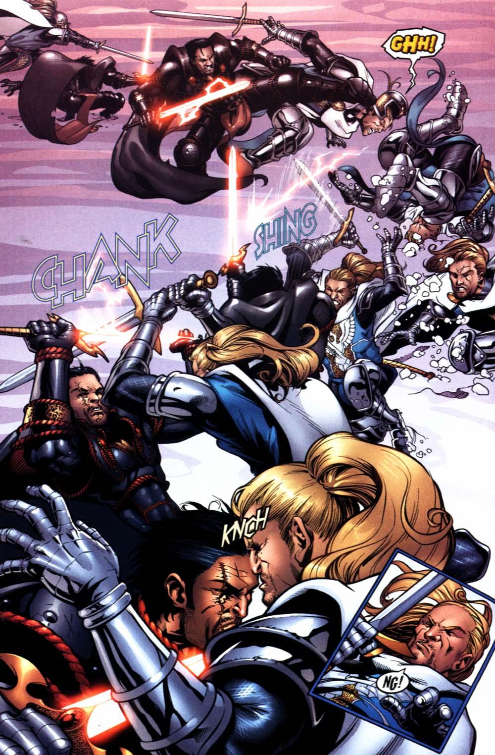 Read online Scion comic -  Issue #22 - 20