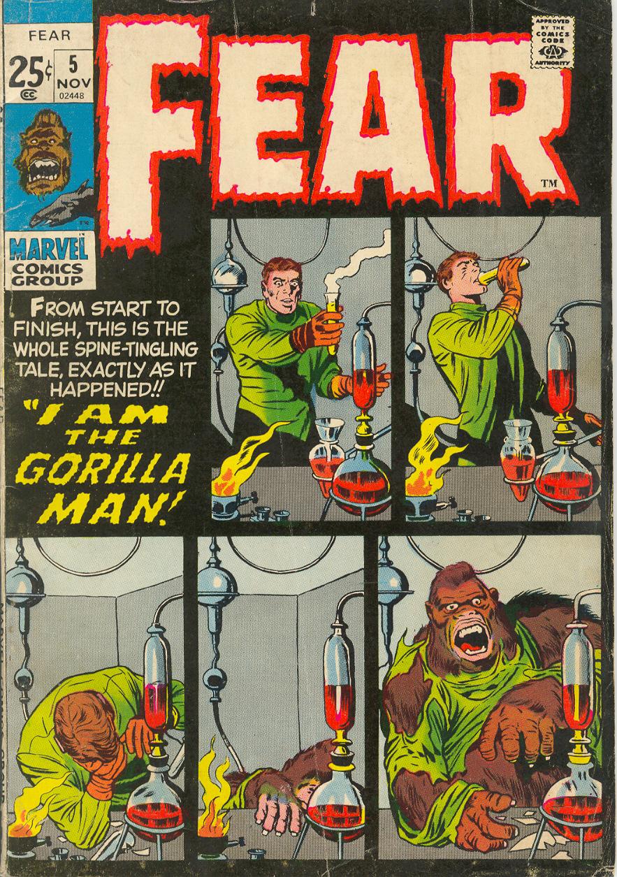 Fear 5 Page 1