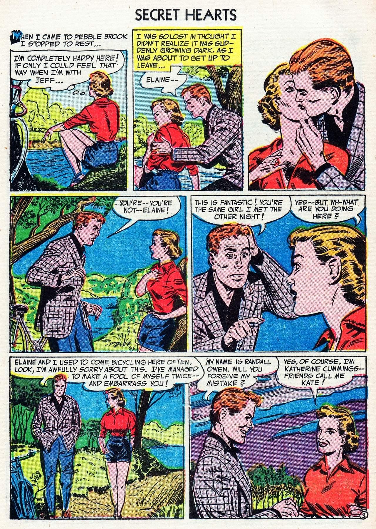 Read online Secret Hearts comic -  Issue #16 - 13