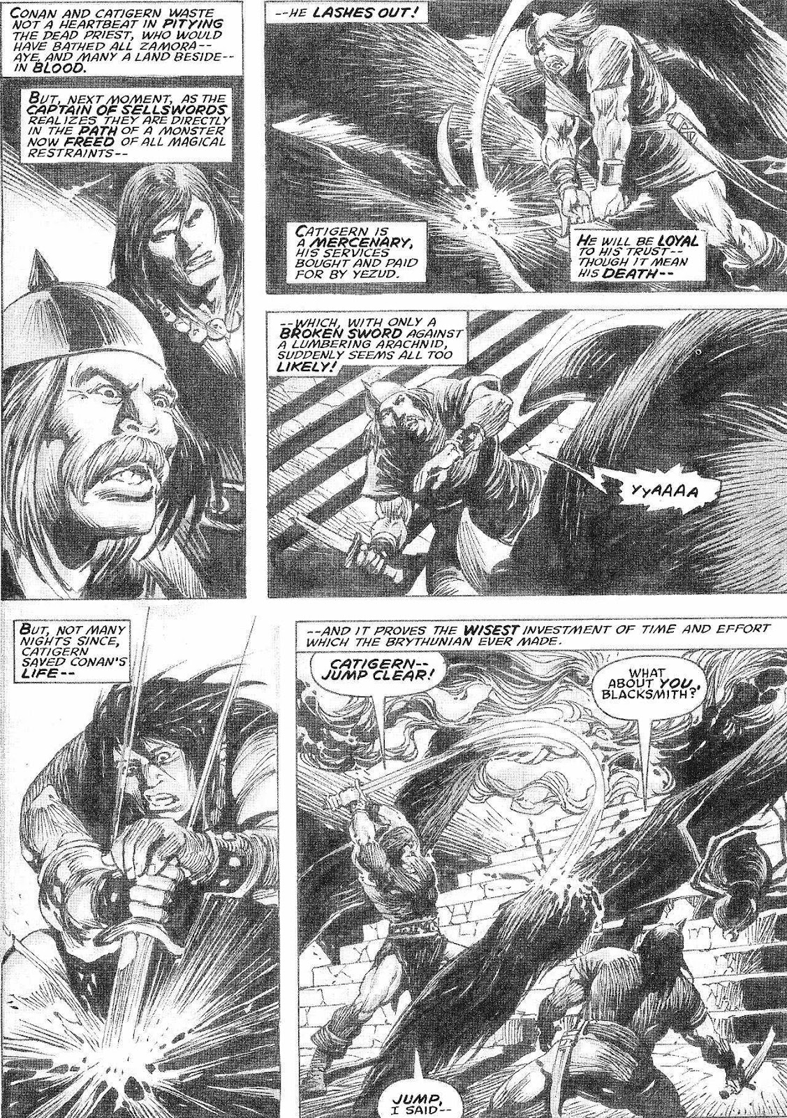 The Savage Sword Of Conan Issue #210 #211 - English 38