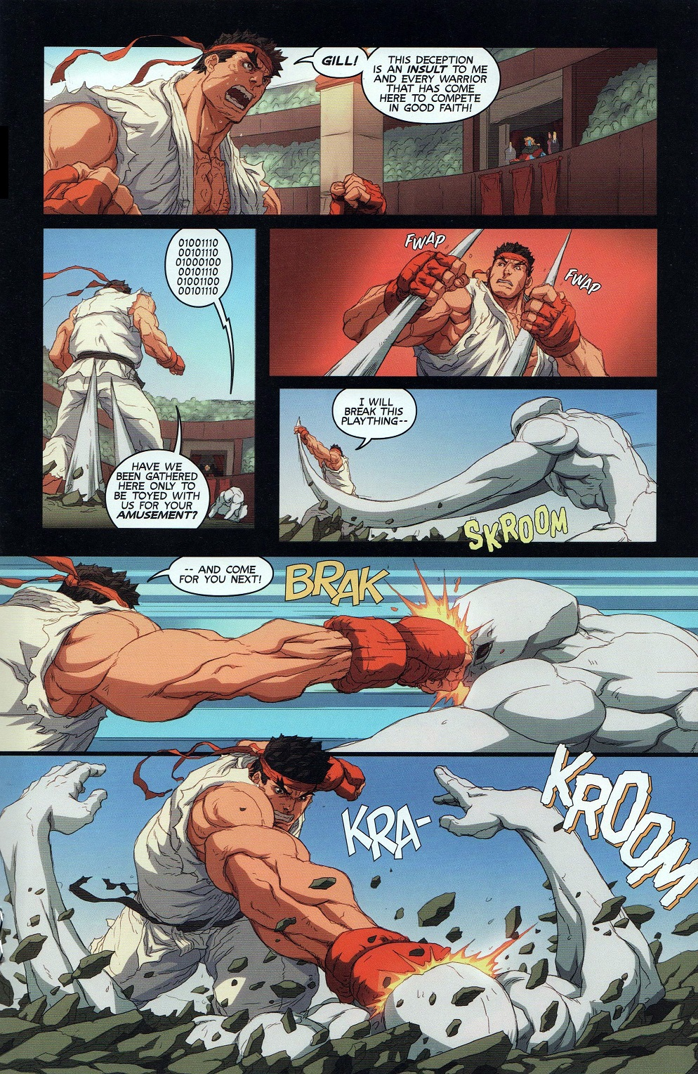 Street Fighter Unlimited Issue #9 #11 - English 19