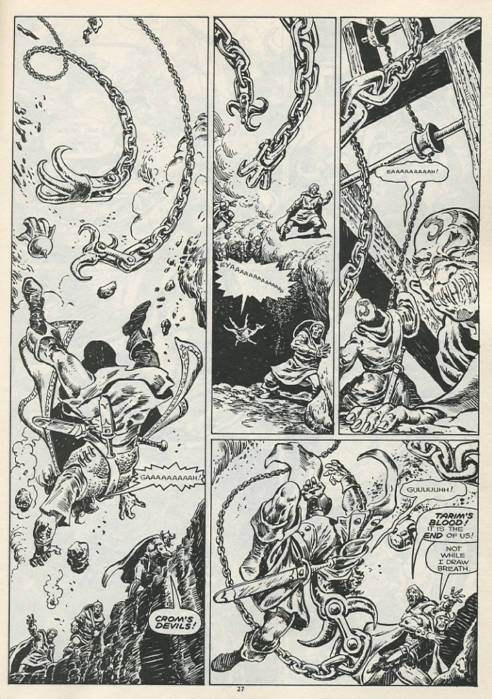 The Savage Sword Of Conan Issue #178 #179 - English 29