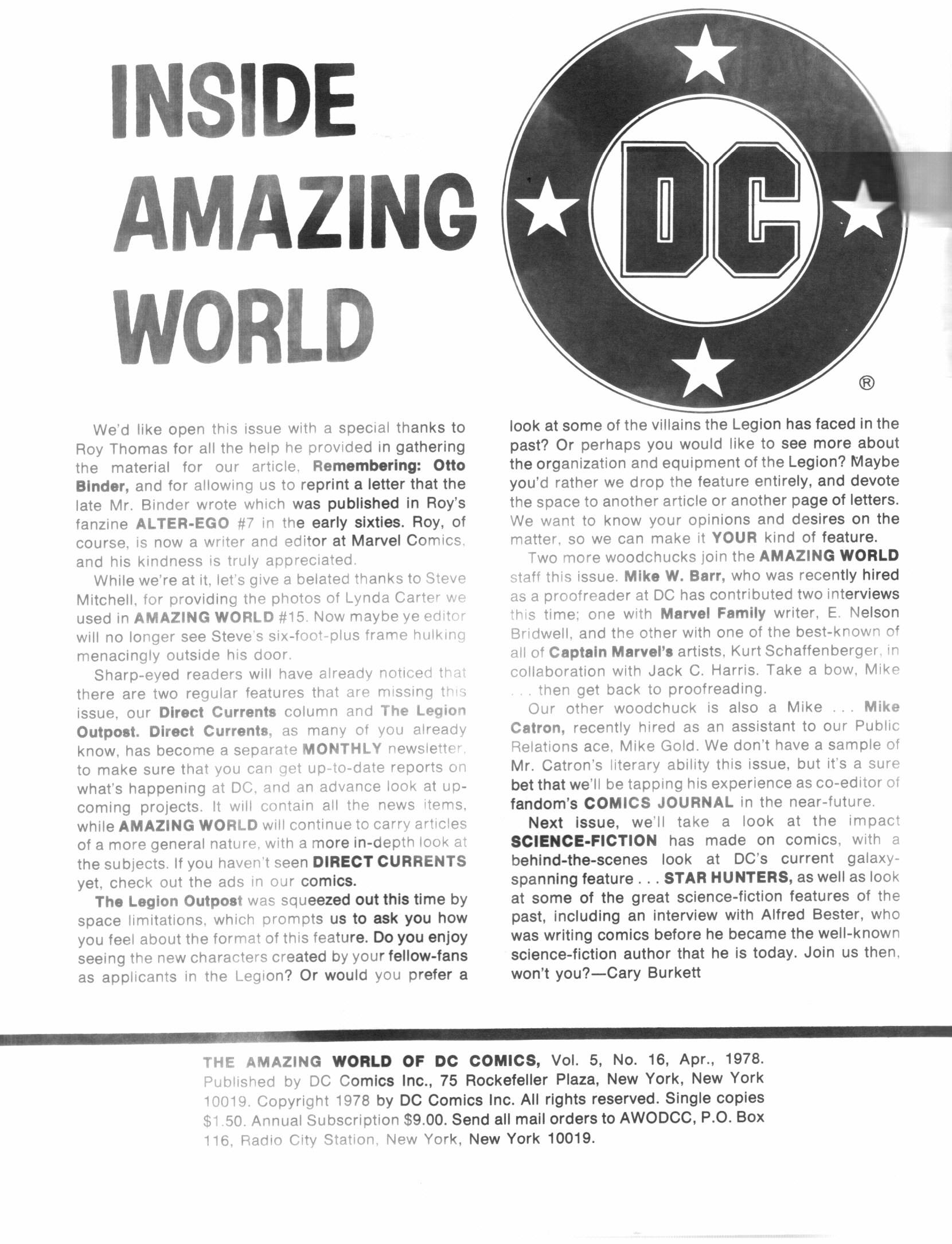 Read online Amazing World of DC Comics comic -  Issue #17 - 2