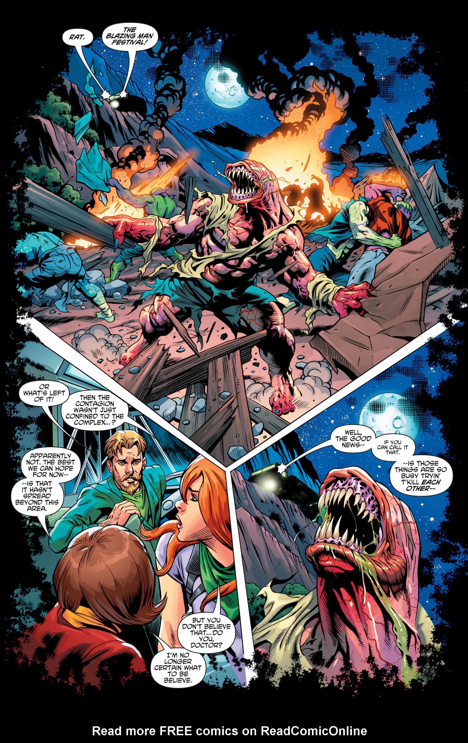 Read online Scooby Apocalypse comic -  Issue #3 - 21