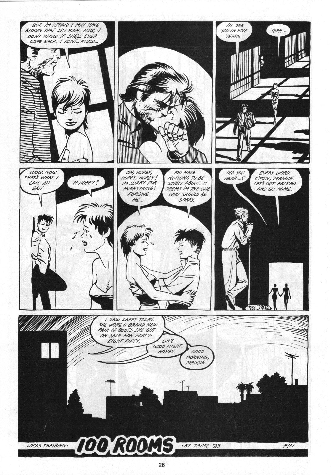 Love and Rockets (1982) Issue #4 #3 - English 28
