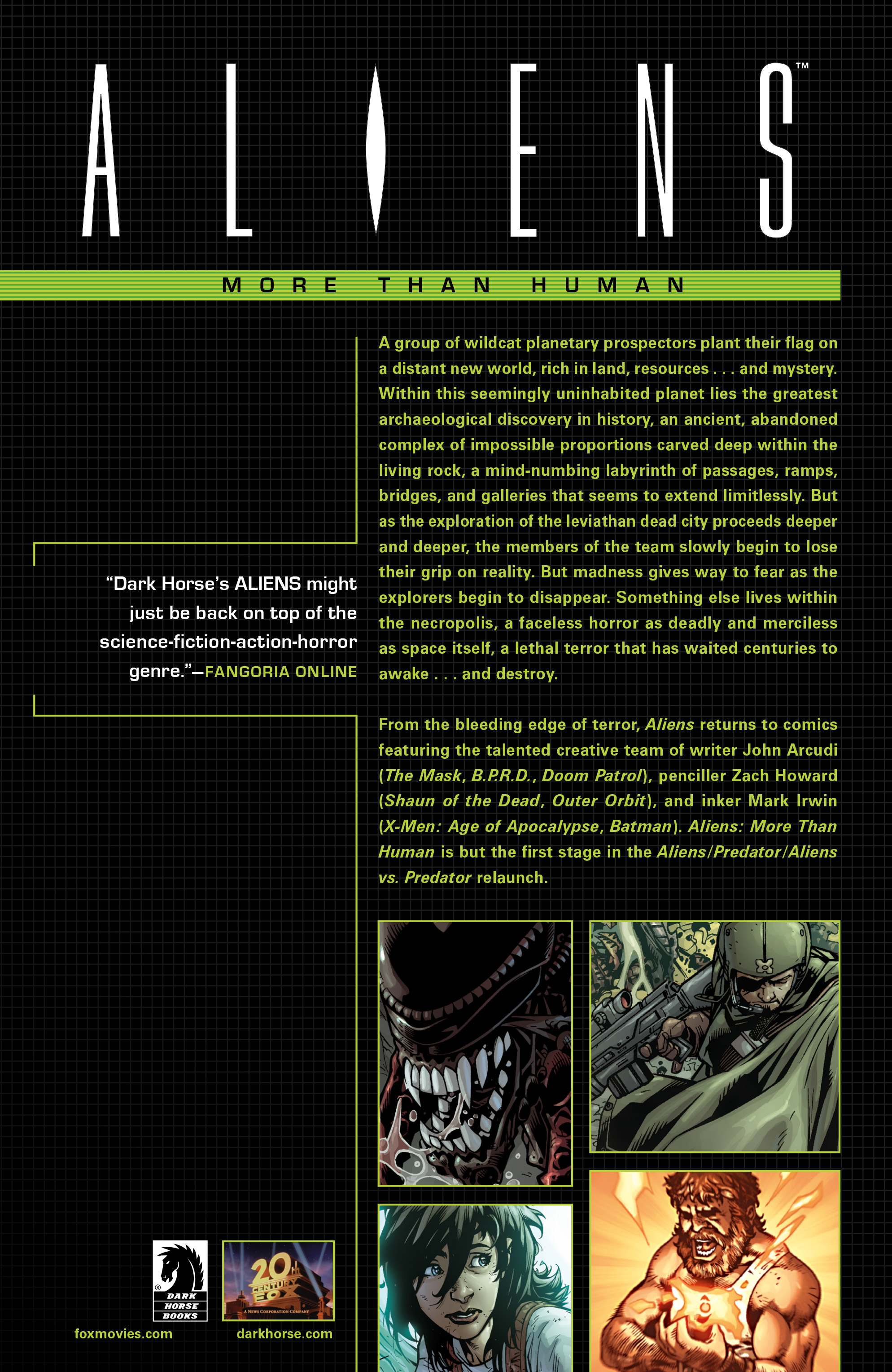 Aliens (2009) TPB Page 98