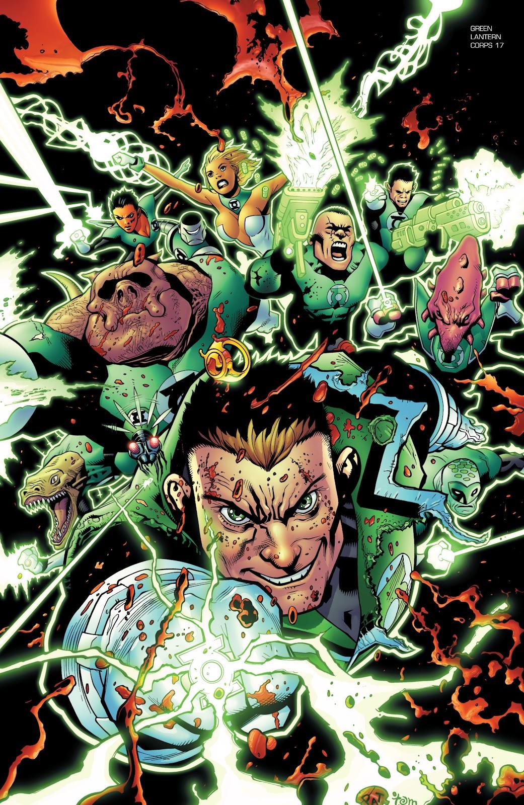 Green Lantern: The Sinestro Corps War Full #1 - English 200