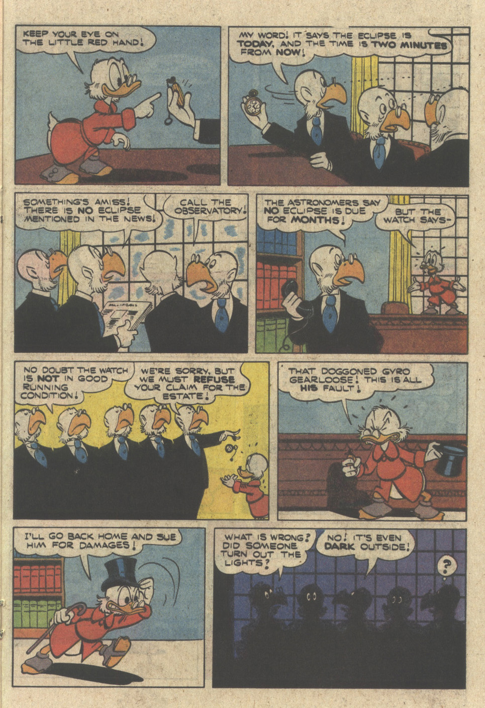 Uncle Scrooge (1953) Issue #230 #230 - English 21