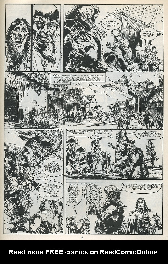 The Savage Sword Of Conan Issue #175 #176 - English 19
