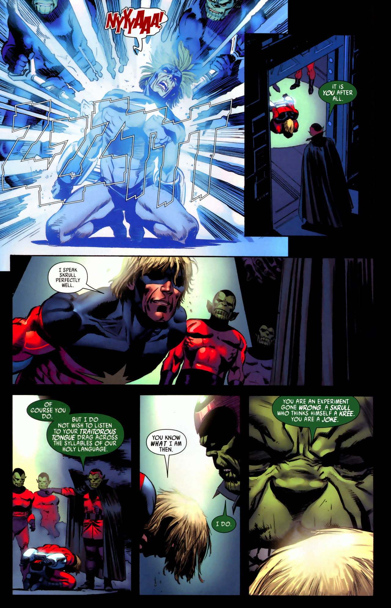 Read online Secret Invasion: Who Do You Trust? comic -  Issue # Full - 9