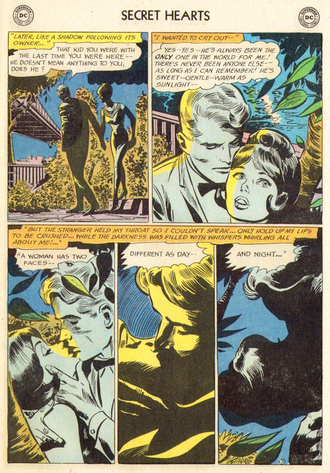 Read online Secret Hearts comic -  Issue #104 - 27
