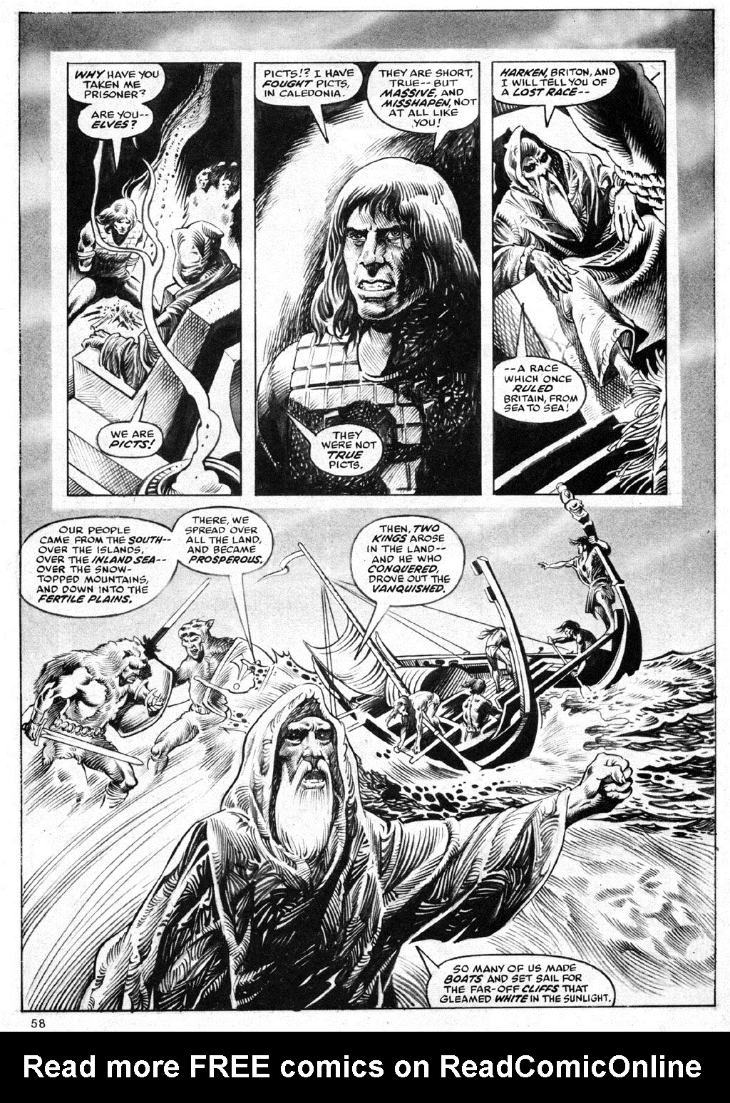 The Savage Sword Of Conan Issue #69 #70 - English 58