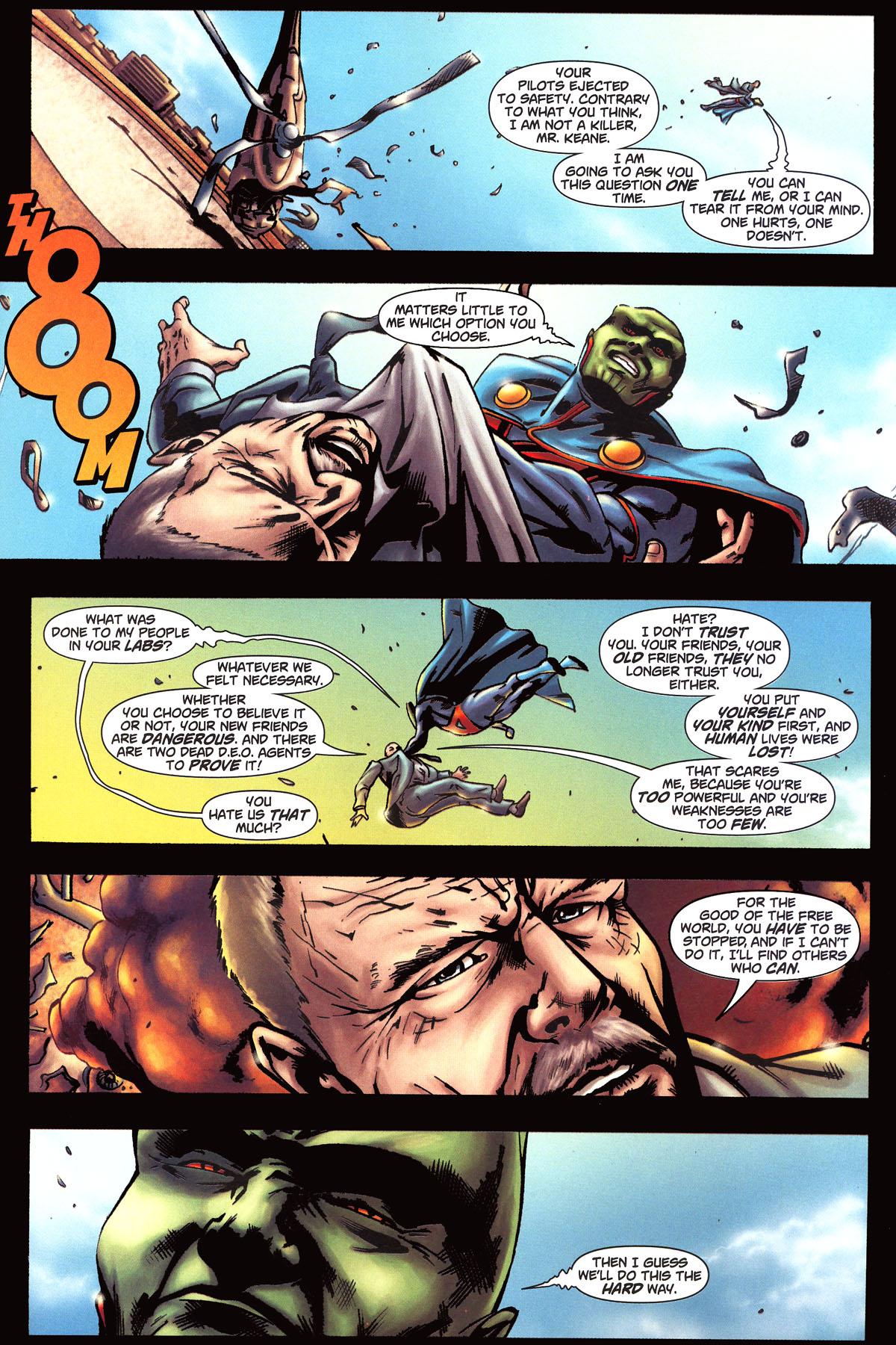 Read online Martian Manhunter (2006) comic -  Issue #6 - 17