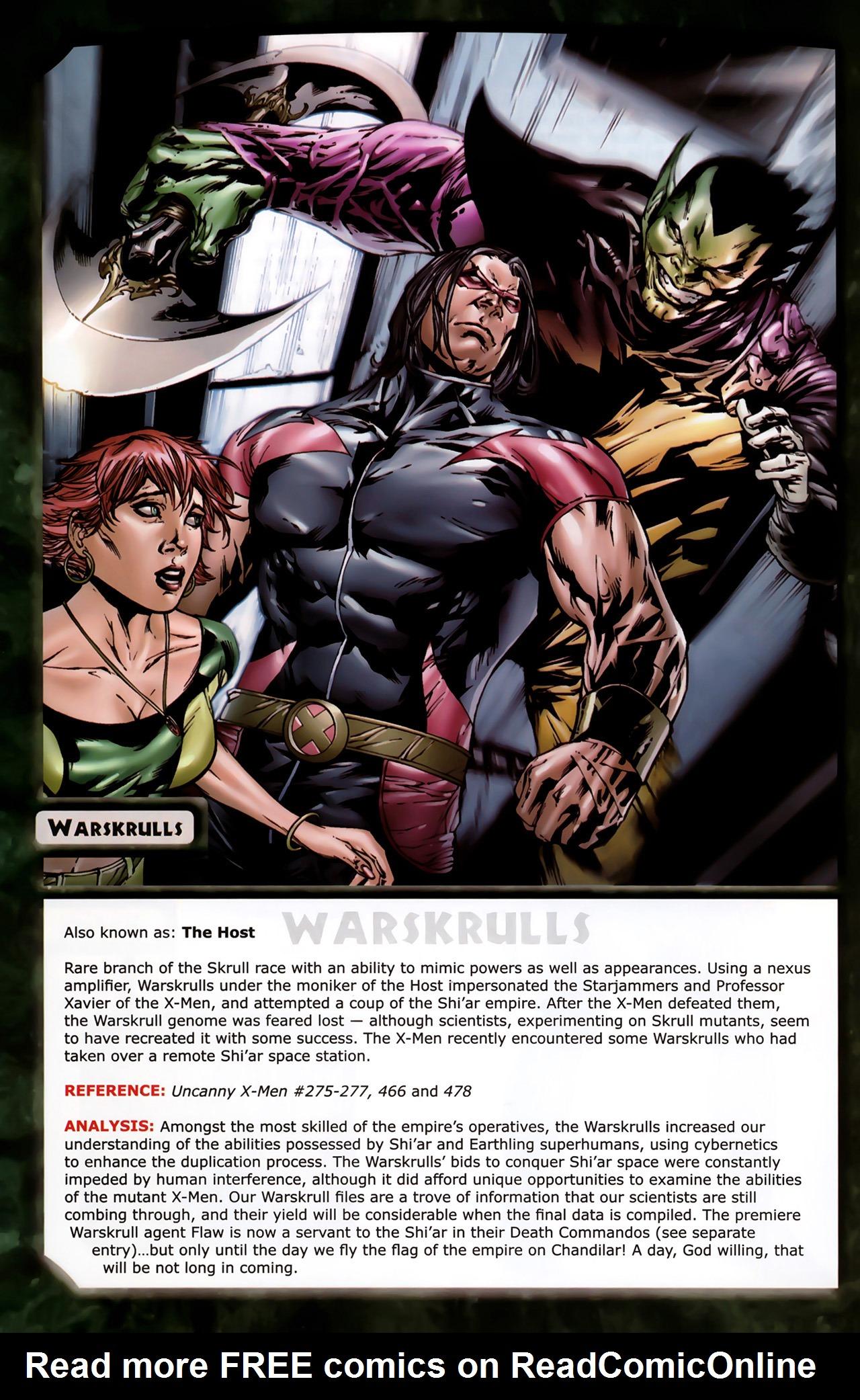 Read online Skrulls! comic -  Issue # Full - 54