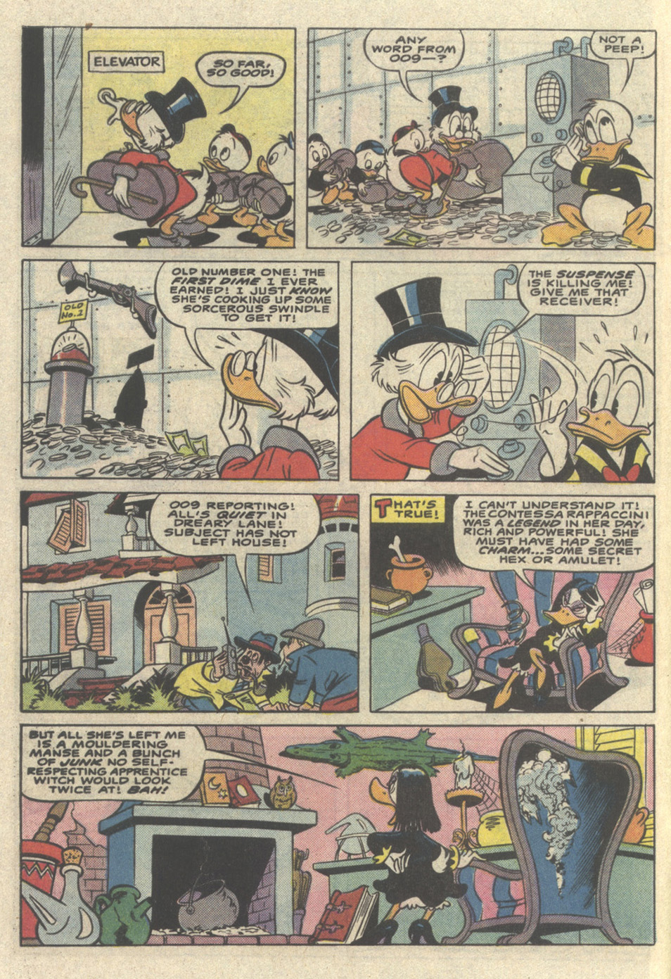 Uncle Scrooge (1953) Issue #221 #221 - English 8