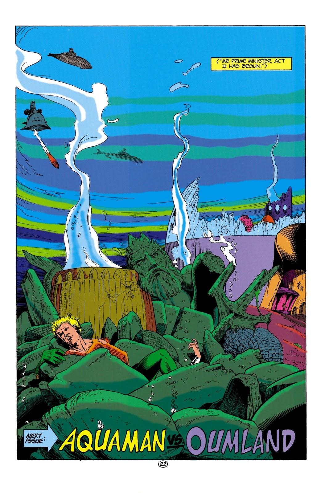 Aquaman (1991) Issue #1 #1 - English 22