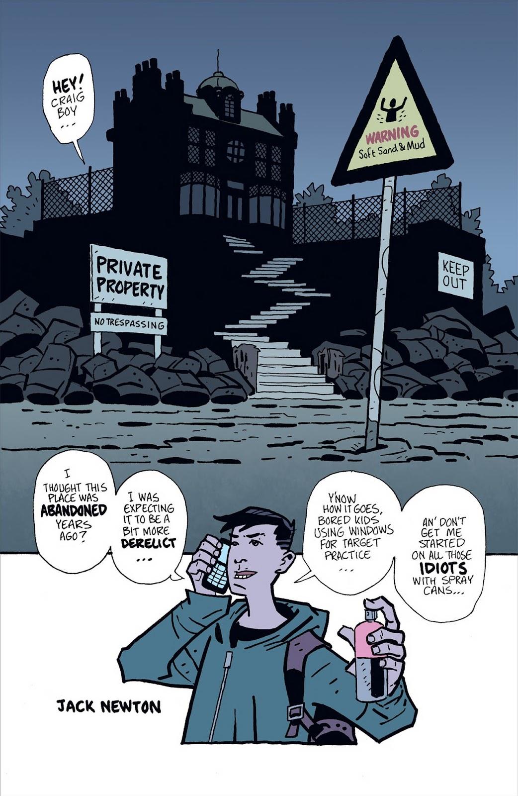 Mudman Issue #1 #1 - English 5