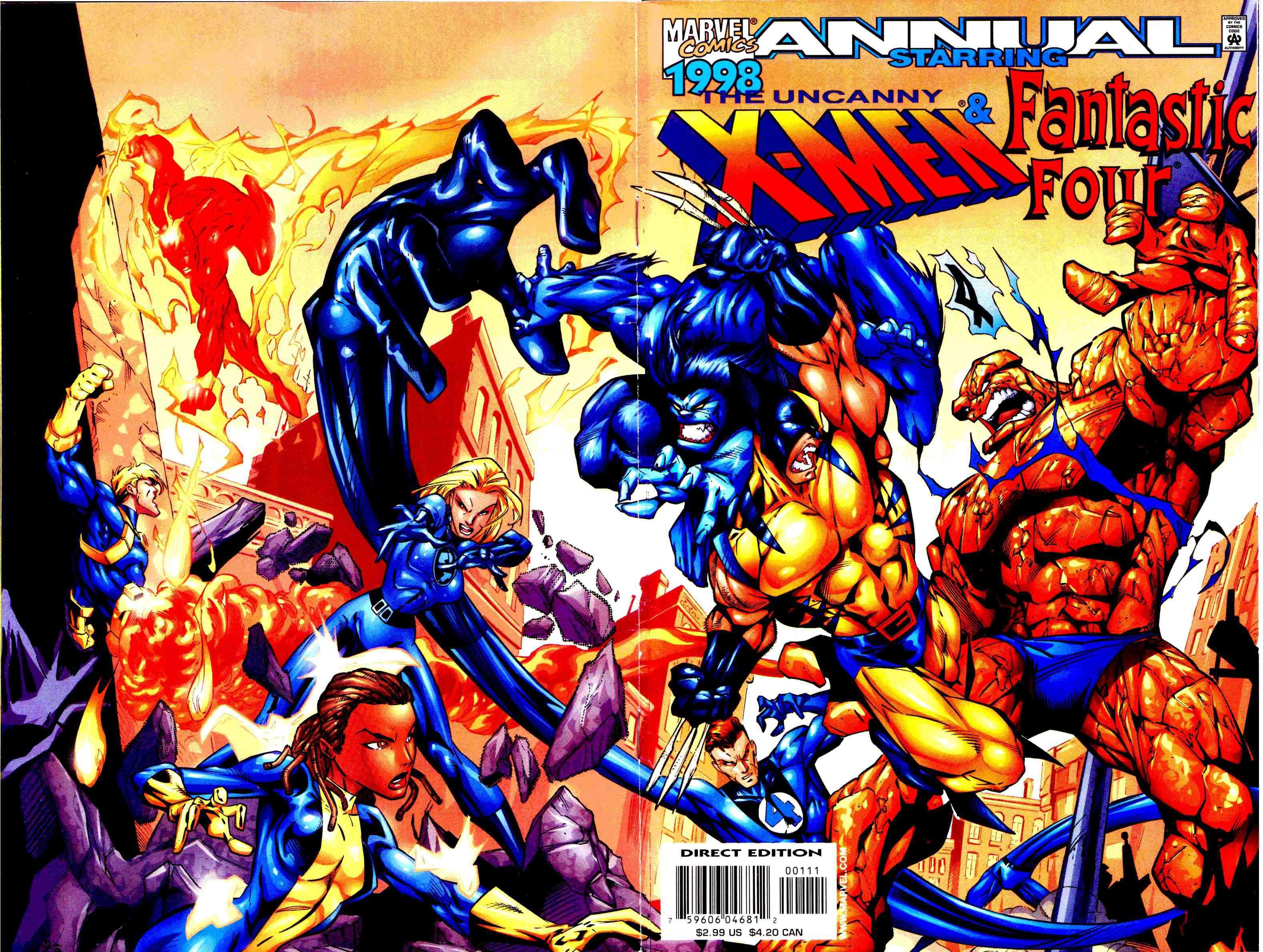 X-Men Annual 22 Page 1