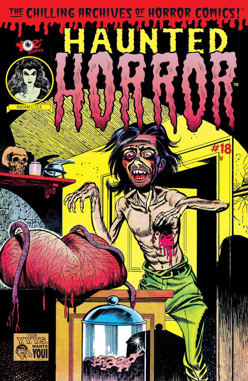 Haunted Horror Issue #18 #18 - English 1