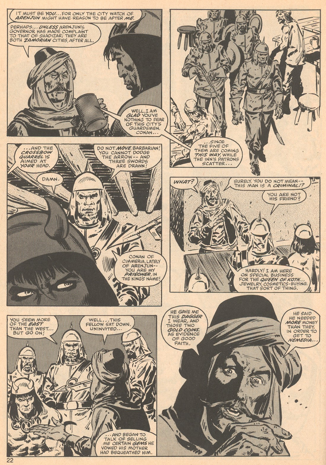 The Savage Sword Of Conan Issue #56 #57 - English 22