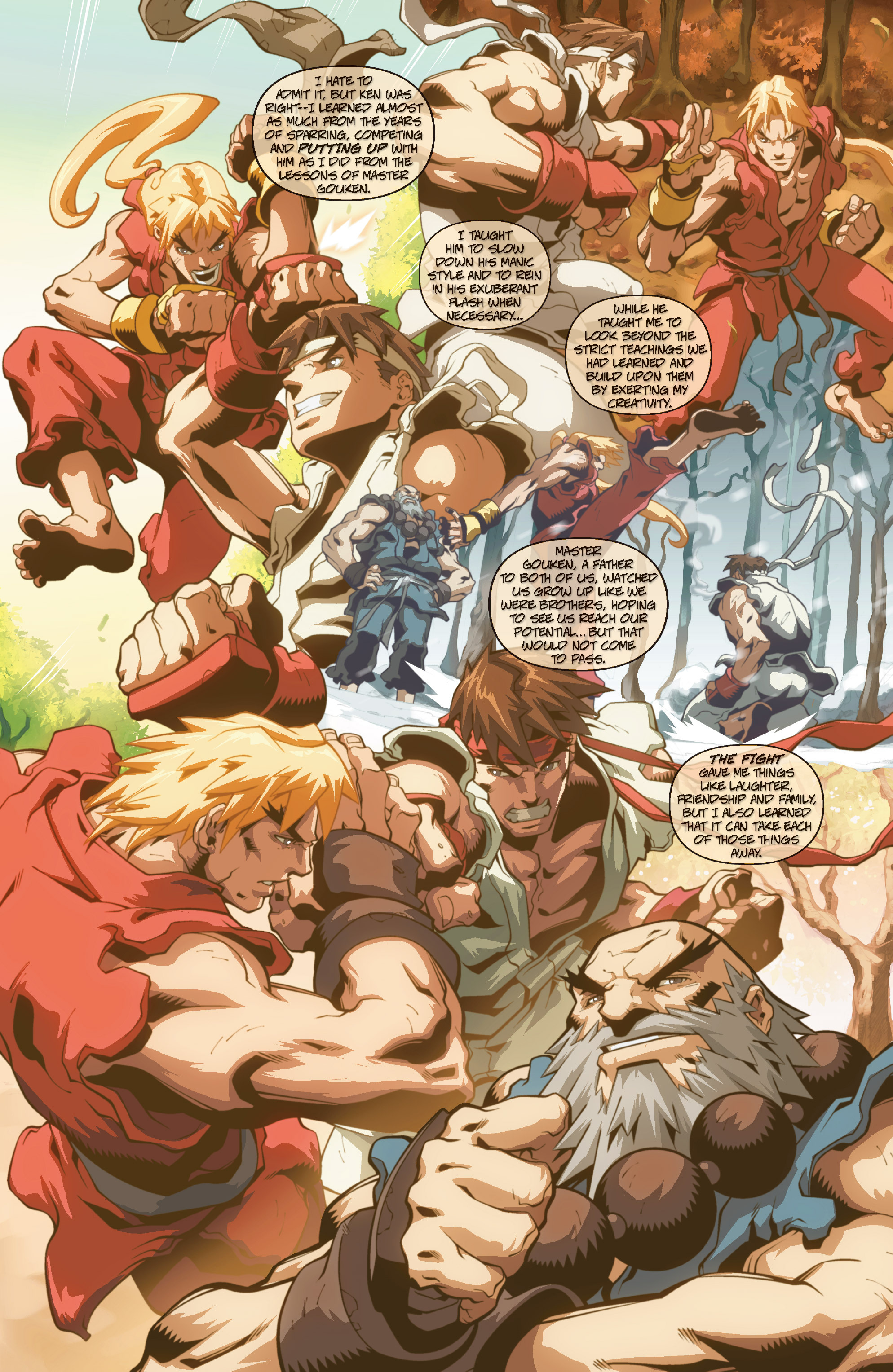 Street Fighter II chap 0 pic 9