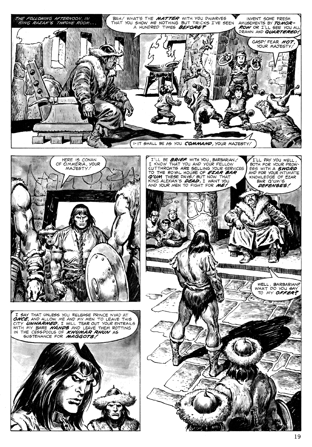 The Savage Sword Of Conan Issue #71 #72 - English 19