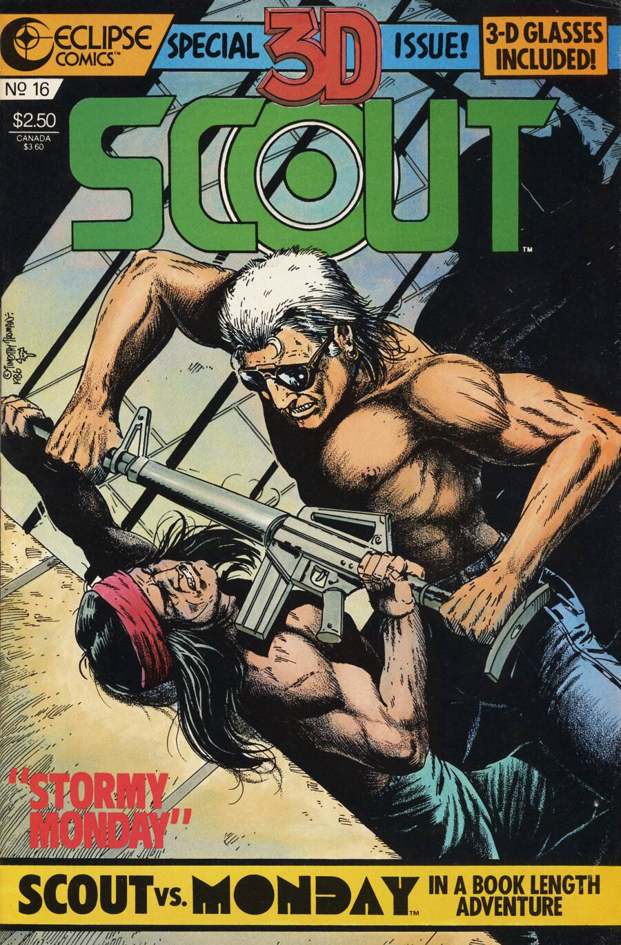 Read online Scout comic -  Issue #16 - 1