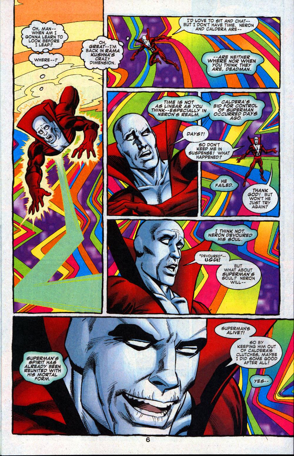 Read online Deadman: Dead Again comic -  Issue #4 - 7