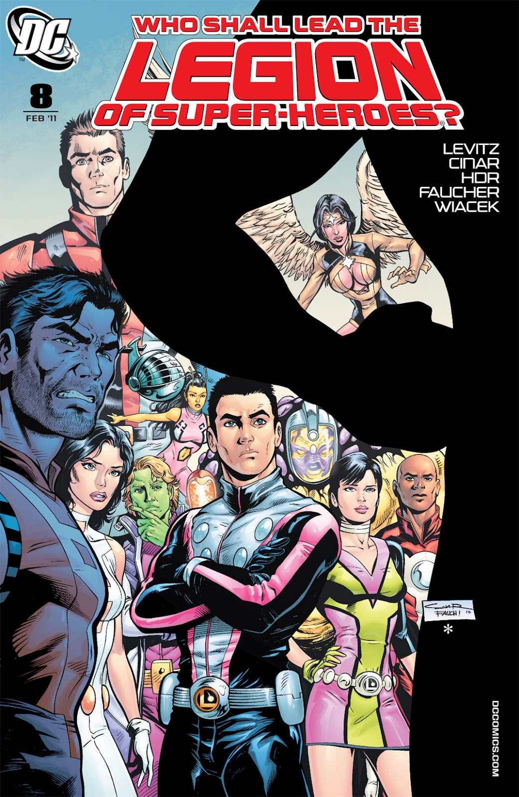 Legion of Super-Heroes (2010) Issue #8 #9 - English 1