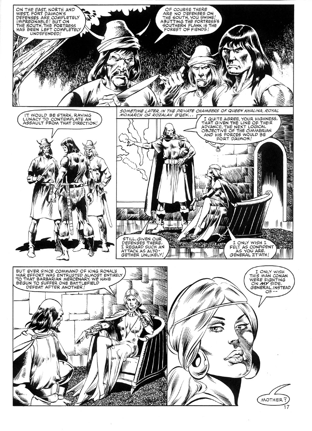 The Savage Sword Of Conan Issue #91 #92 - English 16