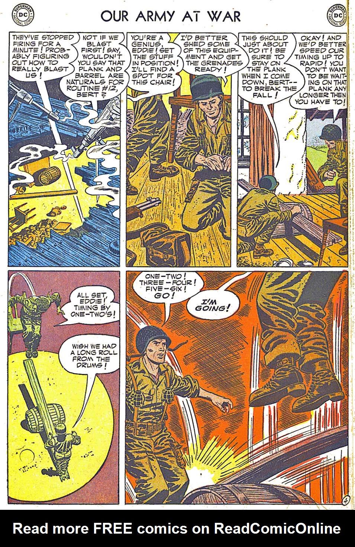 at War (1952) Issue #248 #301 - English 6