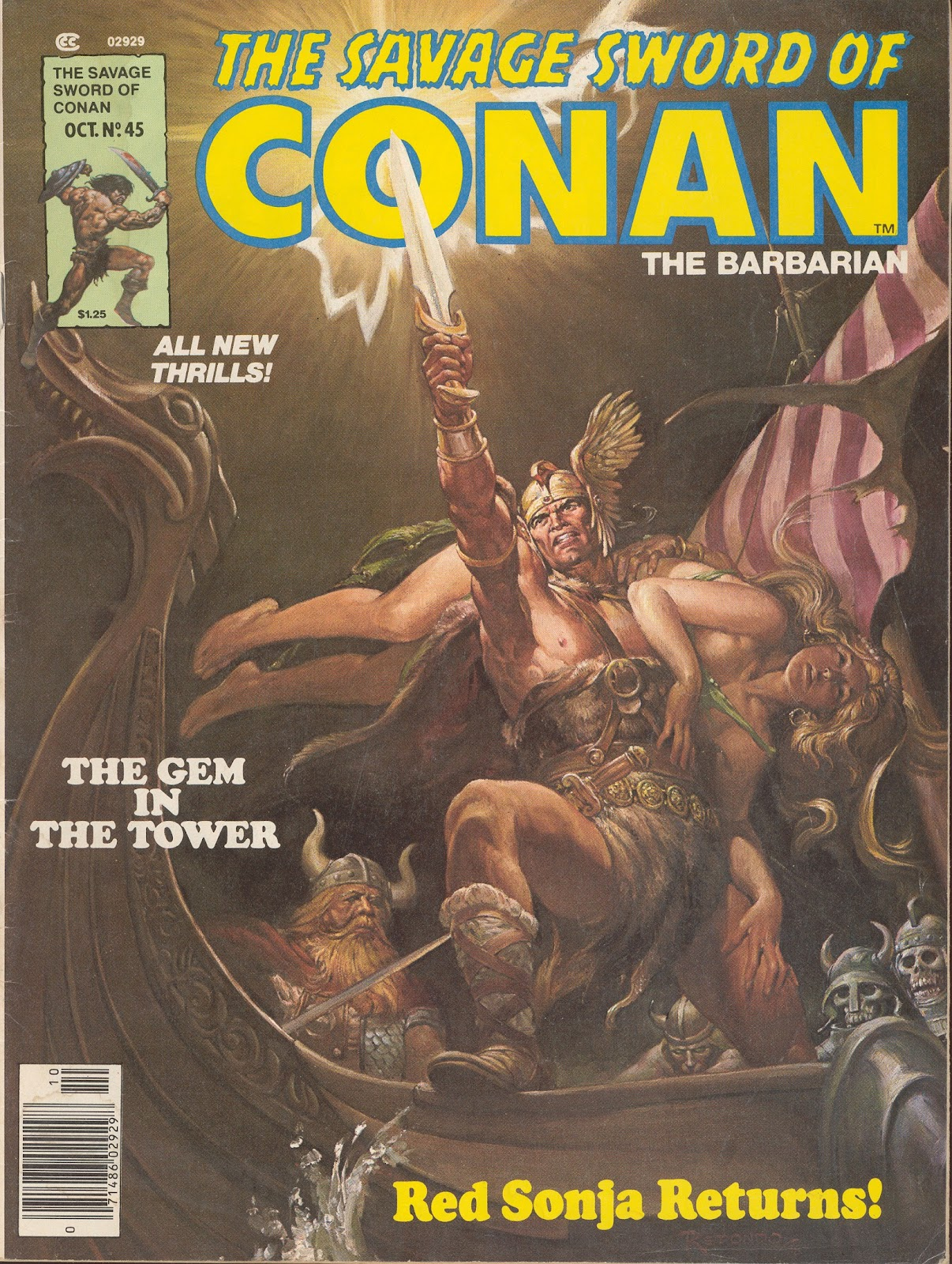 The Savage Sword Of Conan Issue #45 #46 - English 1