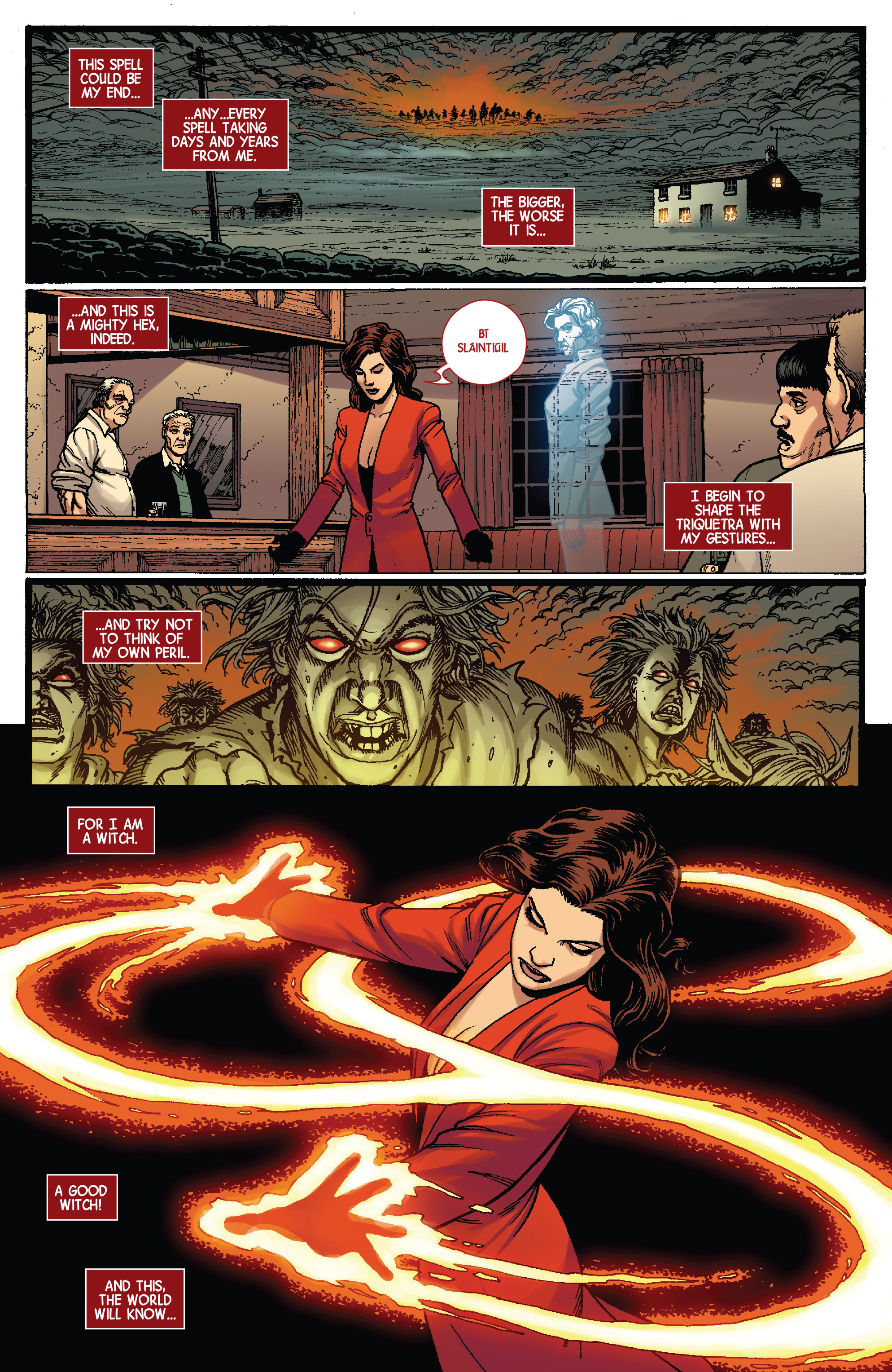 Read online Scarlet Witch (2016) comic -  Issue #3 - 14