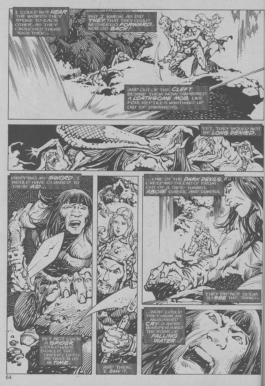 The Savage Sword Of Conan Issue #6 #7 - English 56