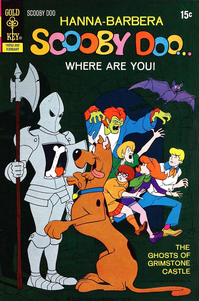 Read online Scooby-Doo... Where Are You! (1970) comic -  Issue #10 - 1