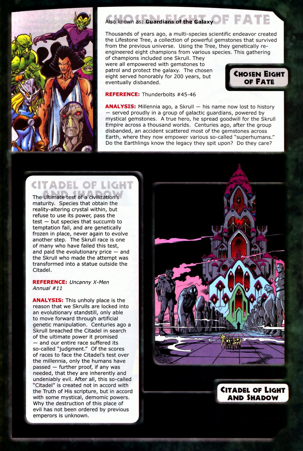 Read online Skrulls! comic -  Issue # Full - 9