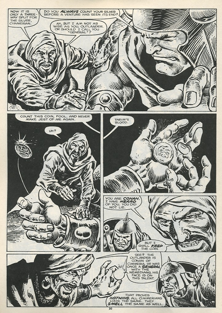 The Savage Sword Of Conan Issue #178 #179 - English 32