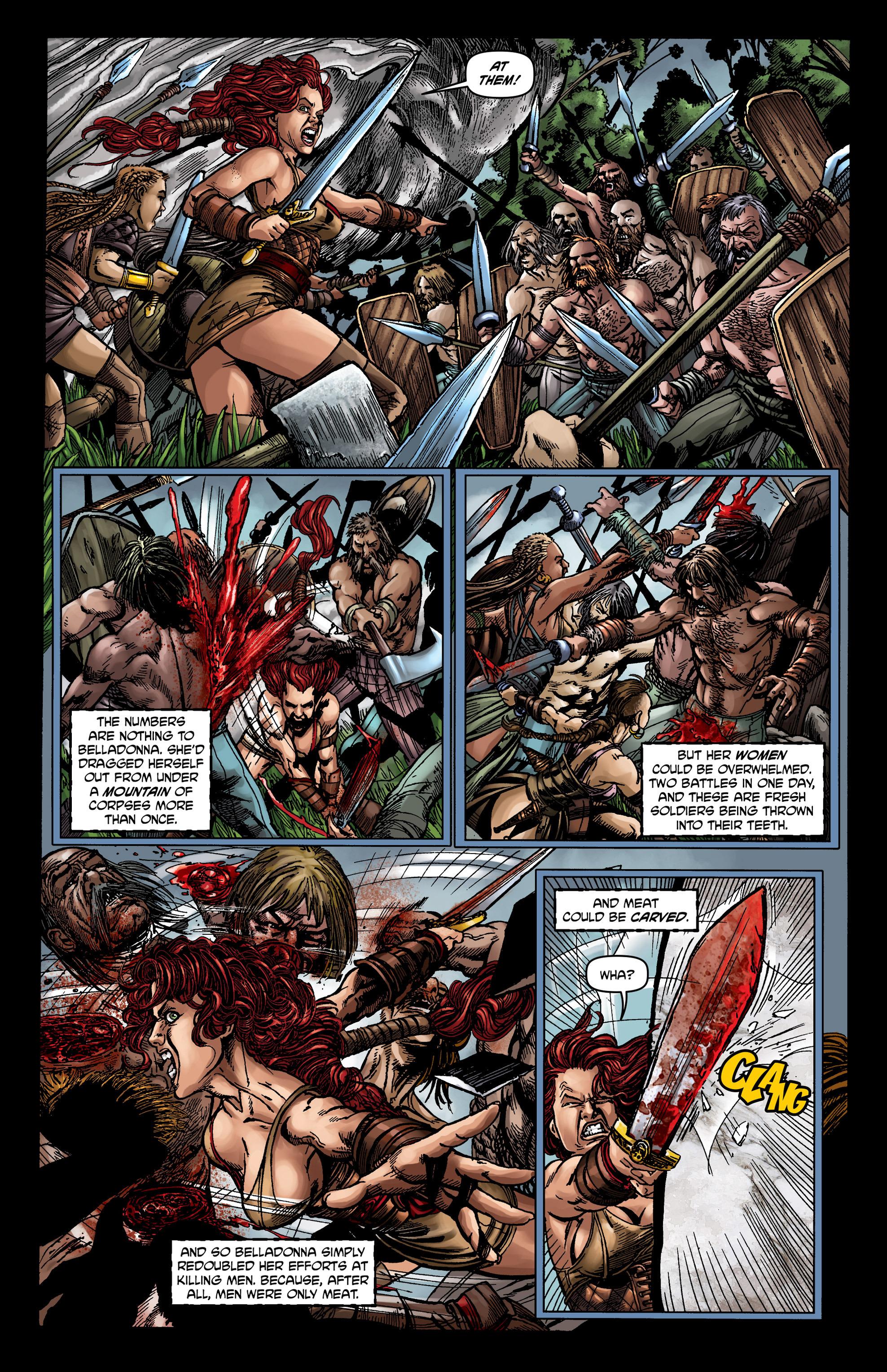 Read online Belladonna comic -  Issue #0 - 19