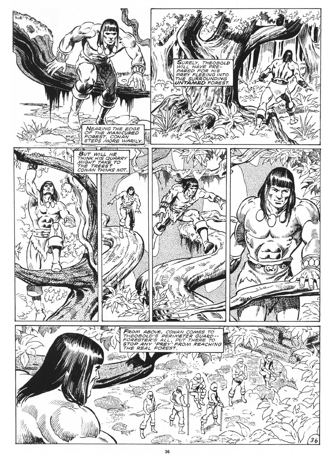 The Savage Sword Of Conan Issue #171 #172 - English 38
