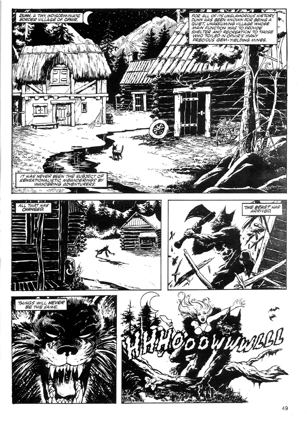 The Savage Sword Of Conan Issue #91 #92 - English 46