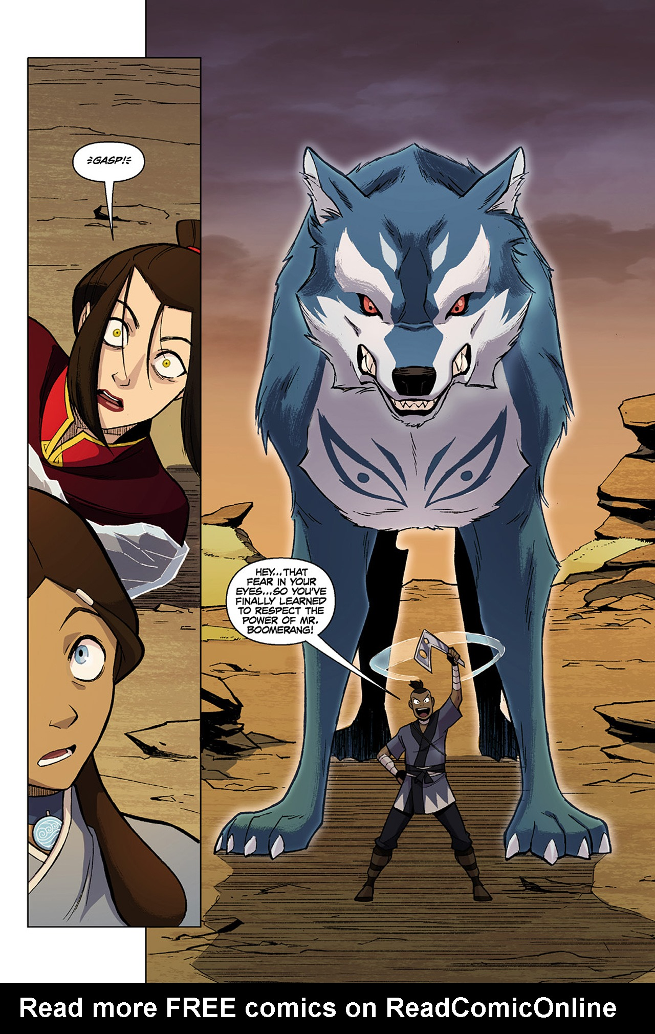 Read online Nickelodeon Avatar: The Last Airbender - The Search comic -  Issue # Part 1 - 55